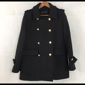 Zara double breast wool coat